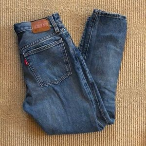 Distressed Levi's 501 Jeans